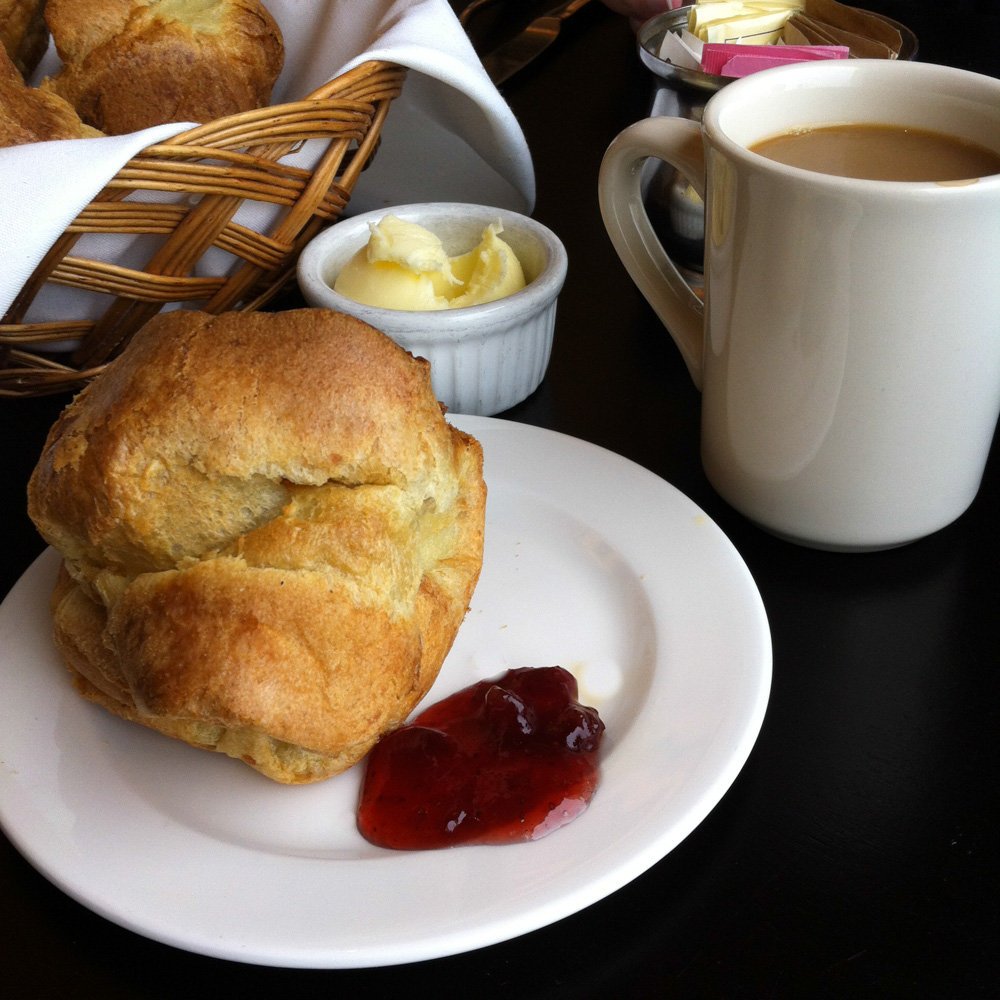 Popovers and jam