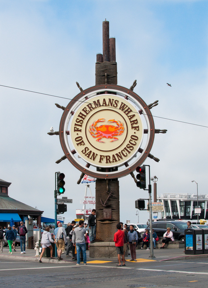 Fisherman's Wharf - a must visit attraction in San Francisco