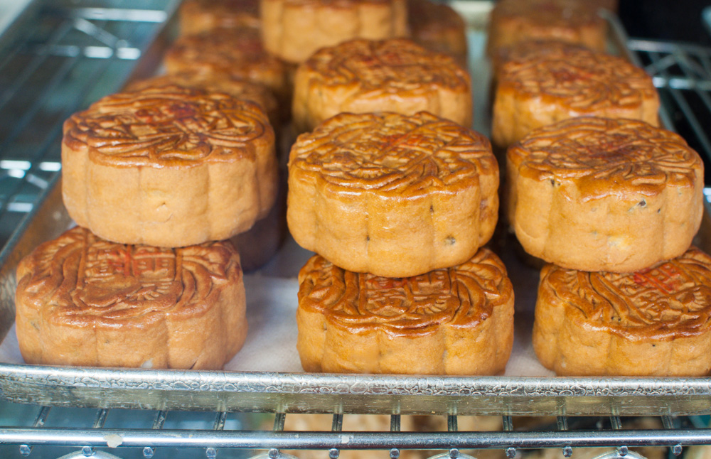Mooncakes at Golden Gate Bakery