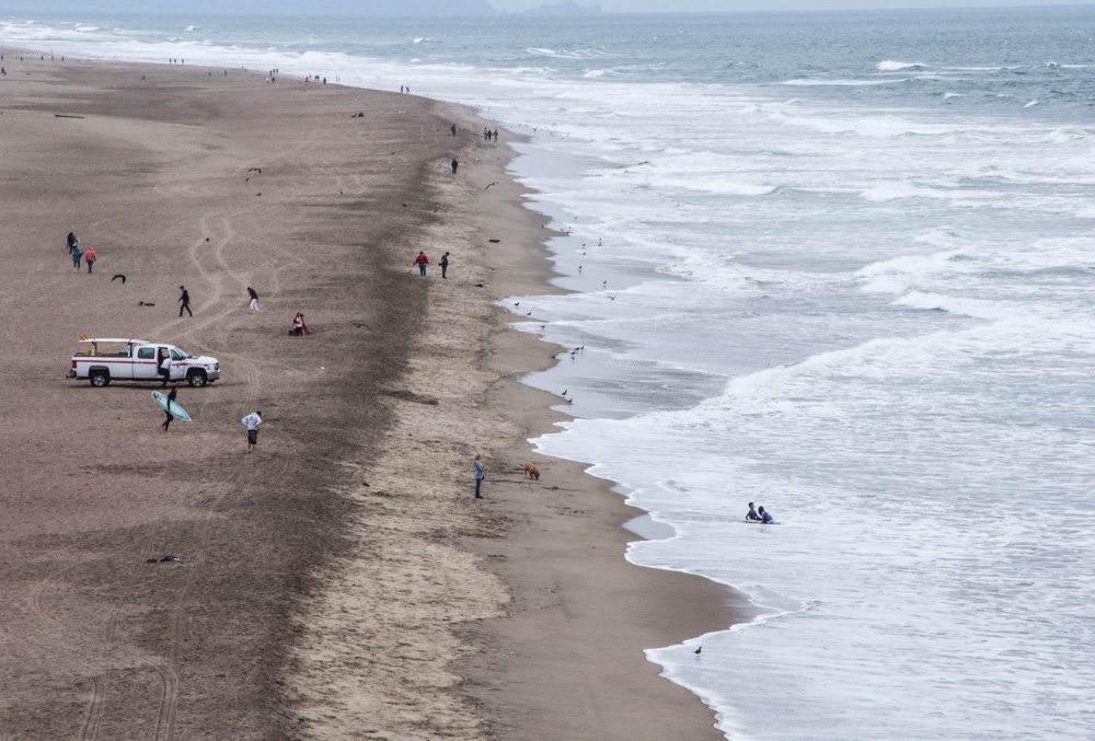 Ocean Beach - A great spot to relax in the San Francisco city