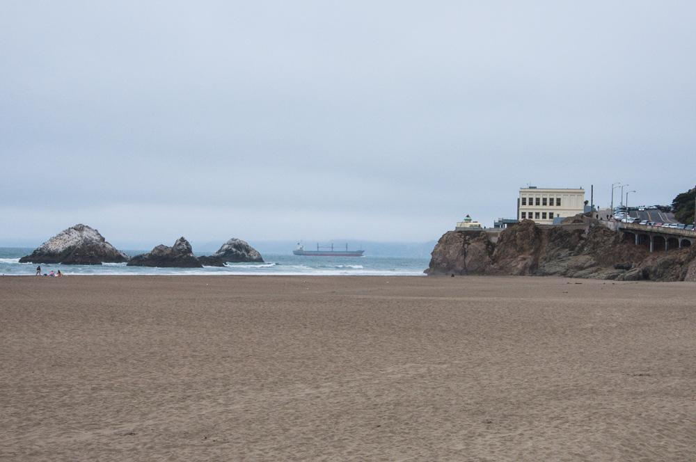 Ocean Beach - On the western edge of San Francisco