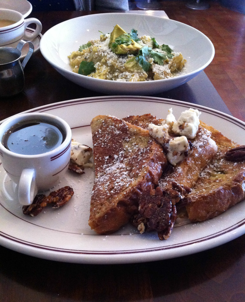 Chilaquiles and Challah French Toast