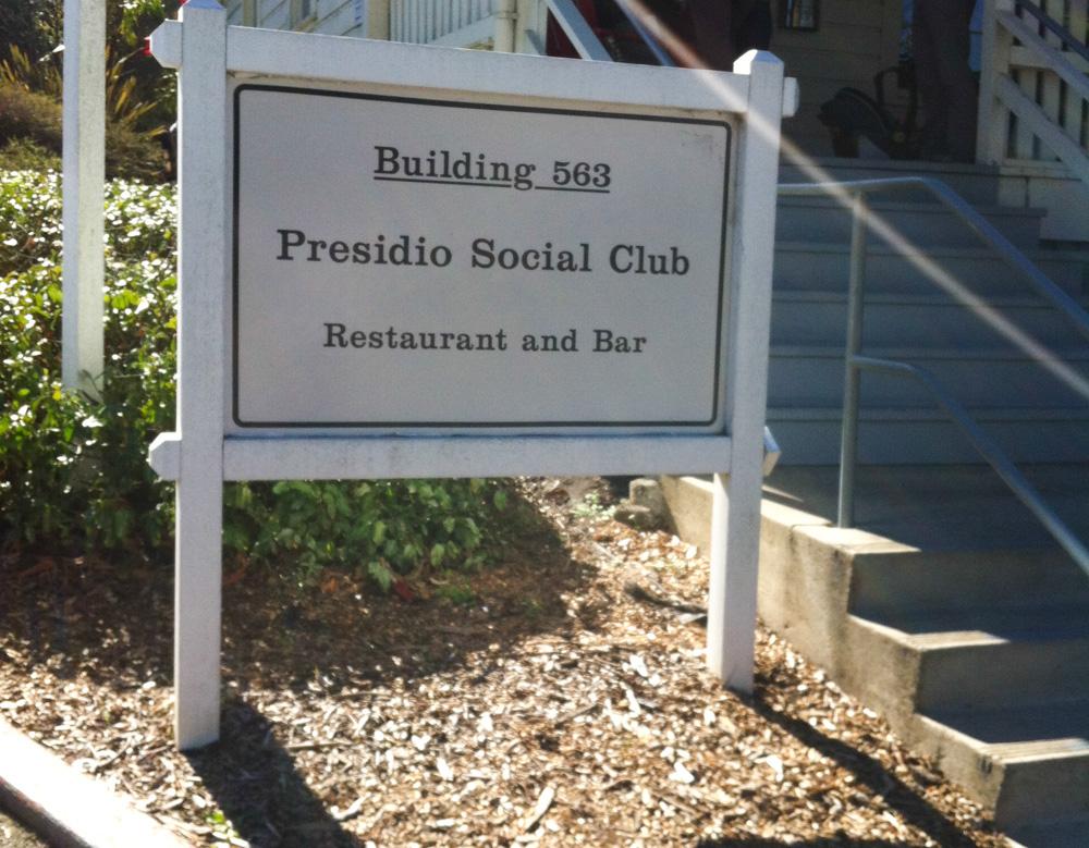 Presidio Social Club Restaurant Review, San Francisco