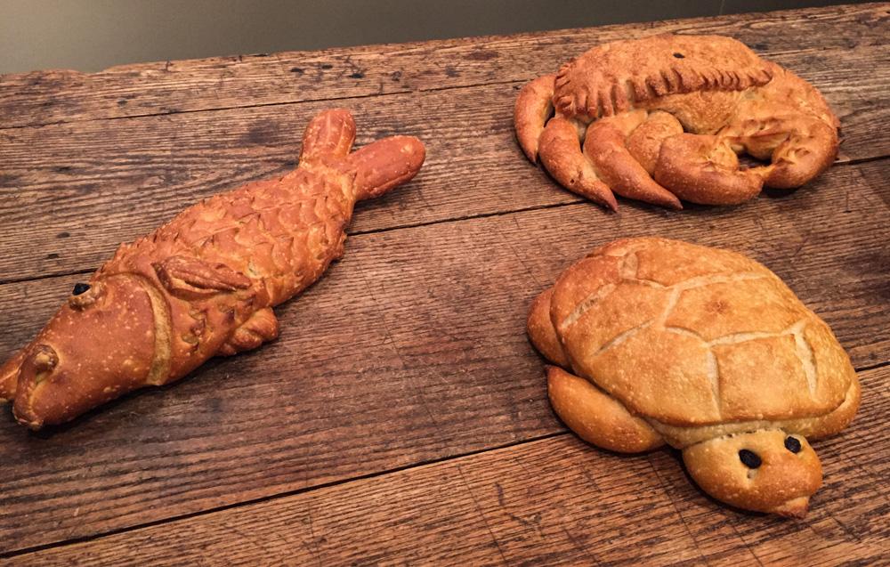 Sourdough bread critters