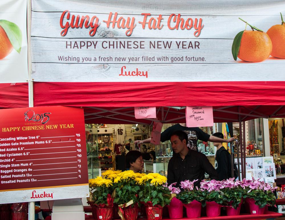 Chinatown Flower Fair