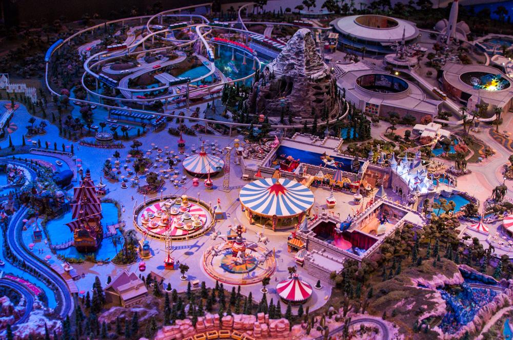 A conceptual model of Disneyland