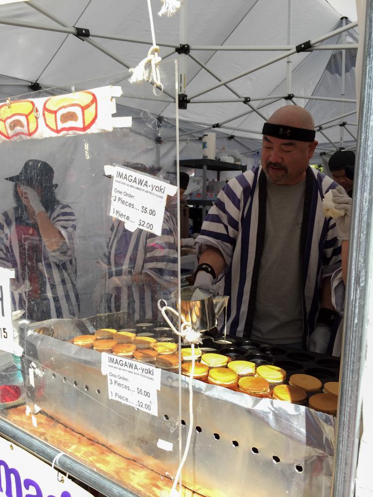 Japanese treats at the Food Bazaar