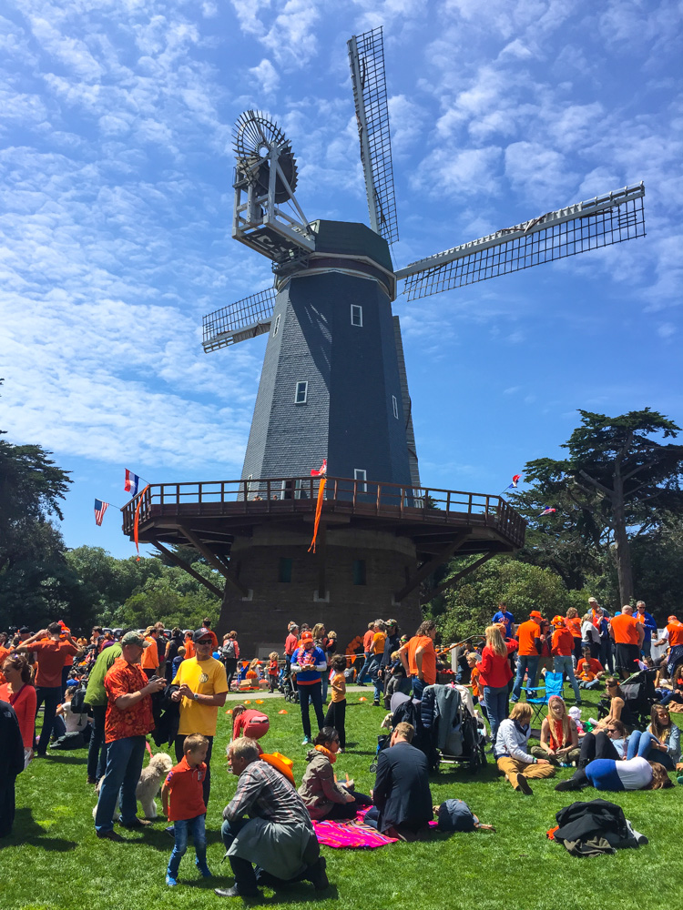 King's Day at Golden Gate Park