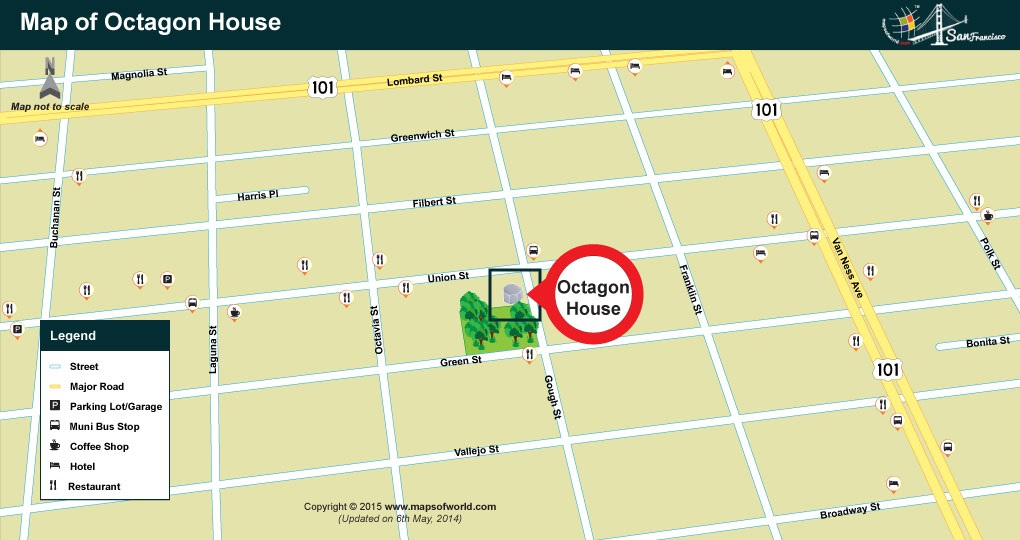 Location Map Octagon House