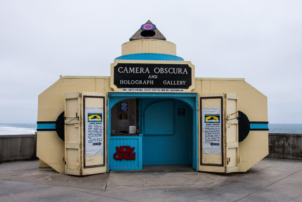 Camera Obscura in San Francisco
