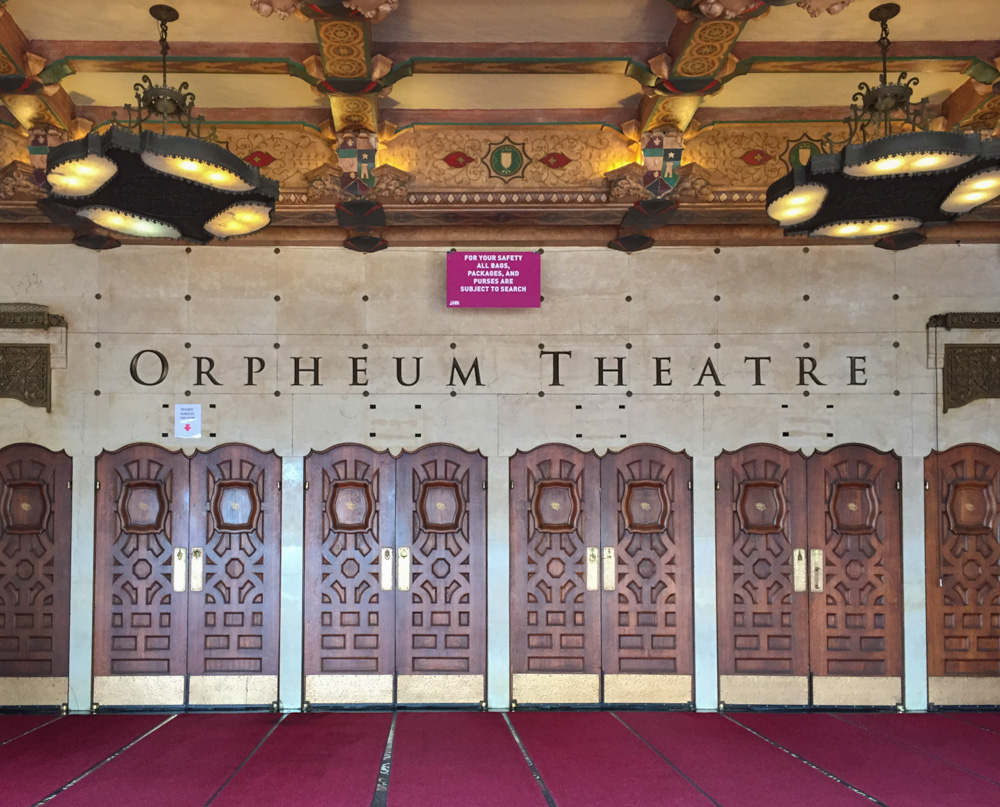 The SHN Orpheum Theatre