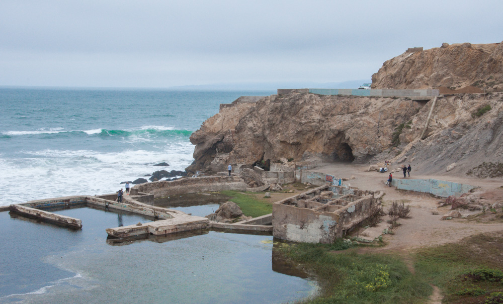 Sutro Baths, San Francisco –  World's Largest Indoor Swimming Complex