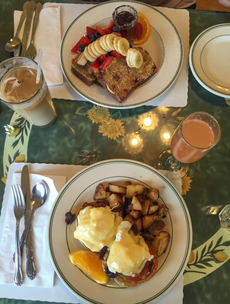 French Toast Sampler and the Blackstone Benedict