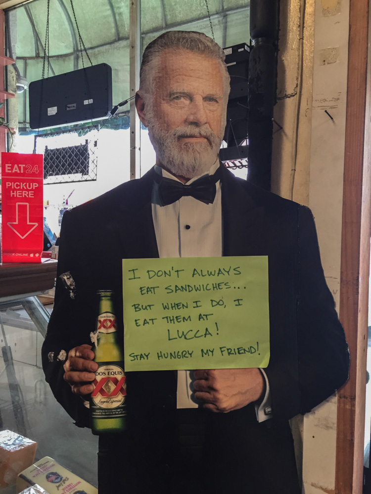 The Most Interesting Man in the World approves