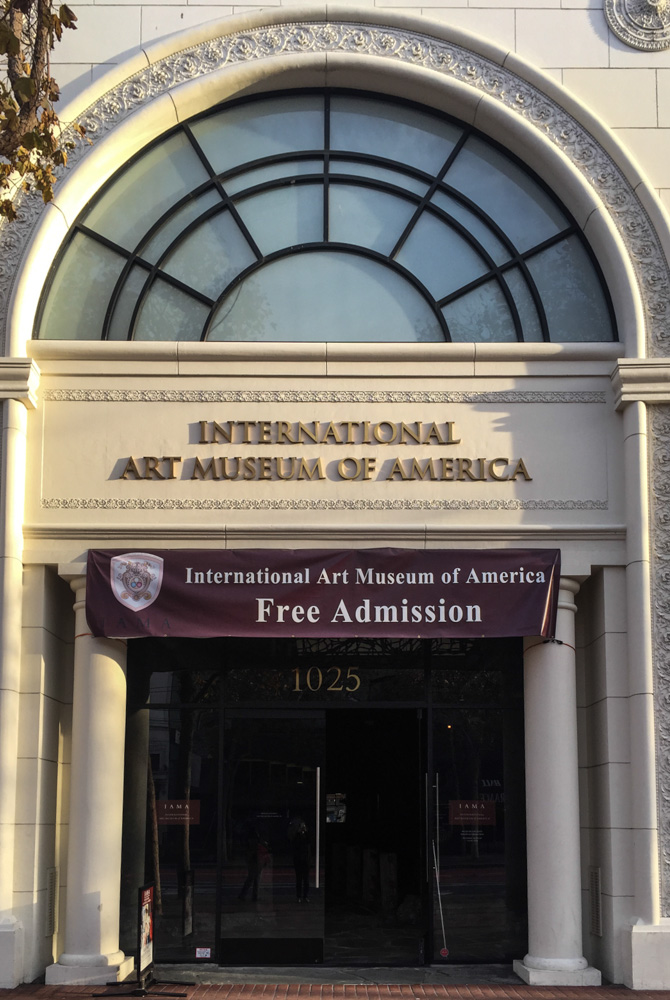 The International Art Museum of America, San Francisco