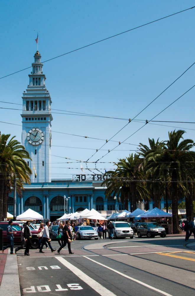 The Ferry Building Clock Tower