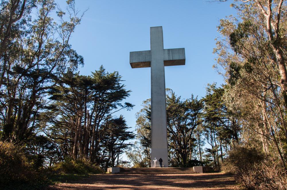 The Sunrise Easter Cross