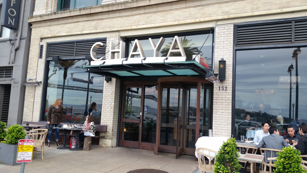 Brasserie Chaya Restaurant Review