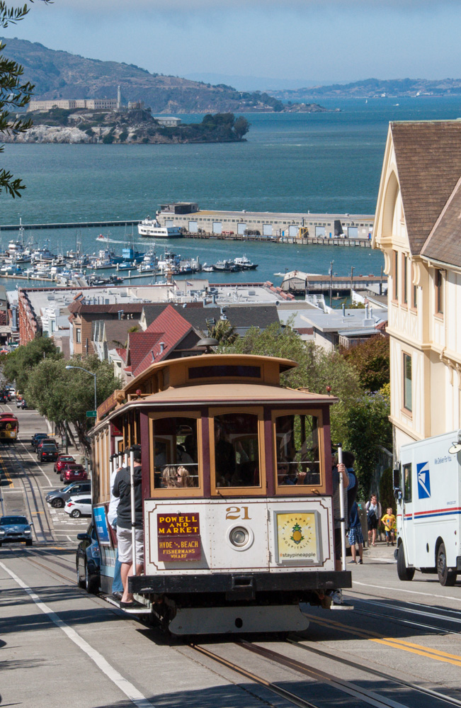 Cable car system - An icon of San Francisco.