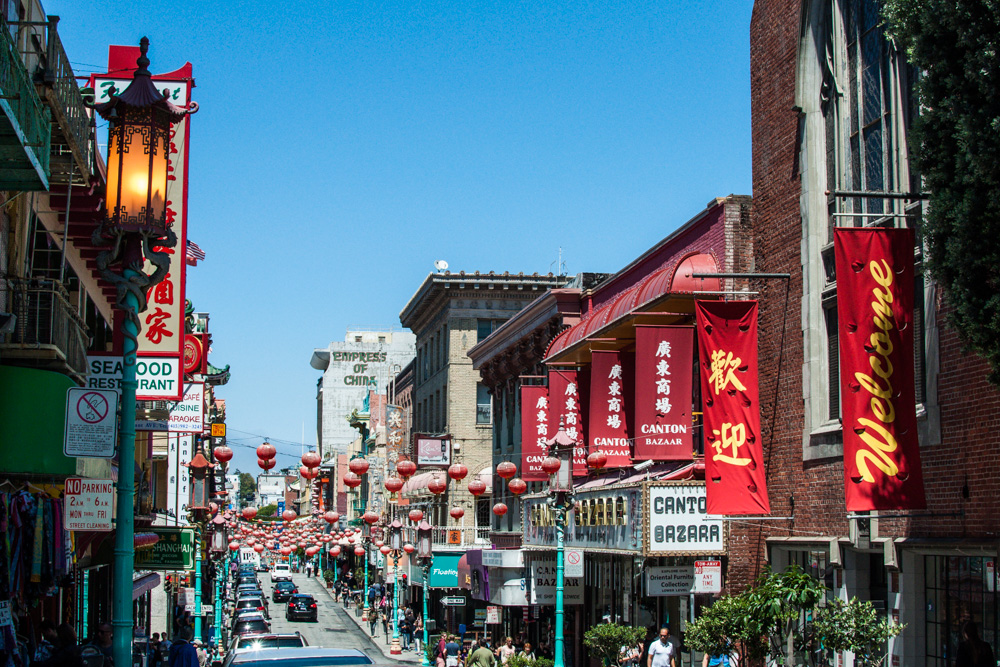 Chinatown - The largest chinatown outside Asia.
