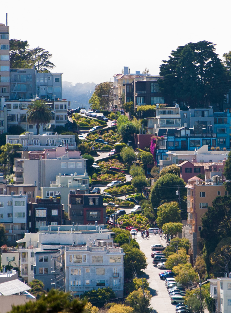 "Lombard Street - ""the crookedest street in the world"""