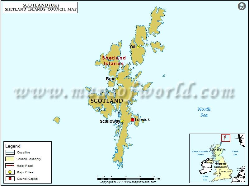 Towns Cities In Shetland Islands