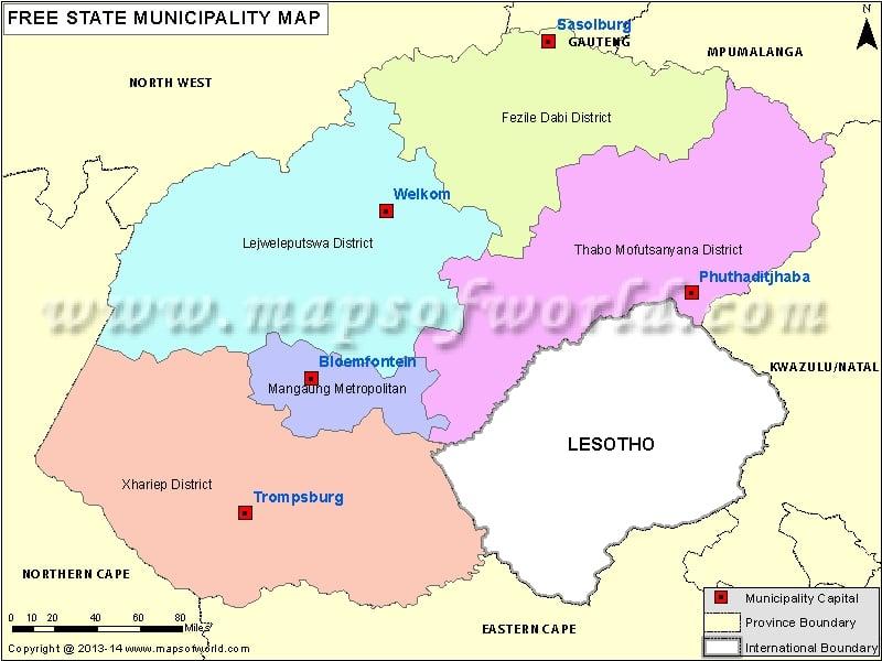 Free State Map