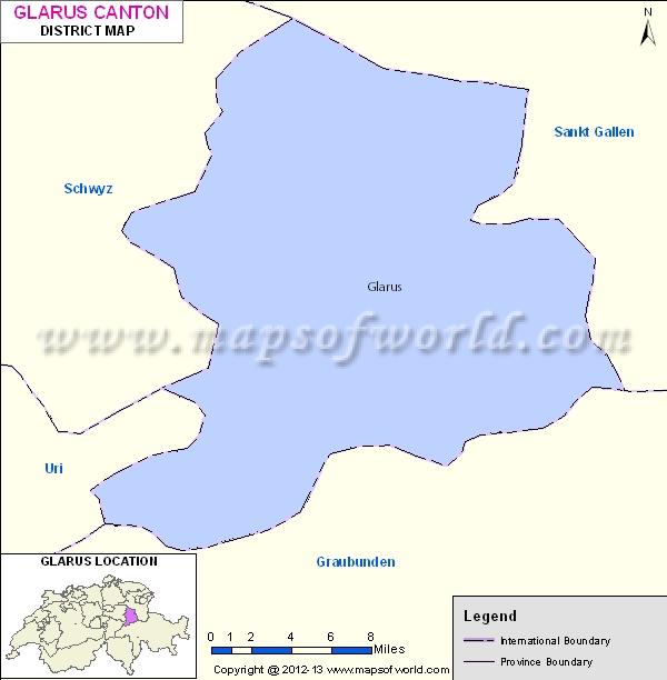 Glarus Map