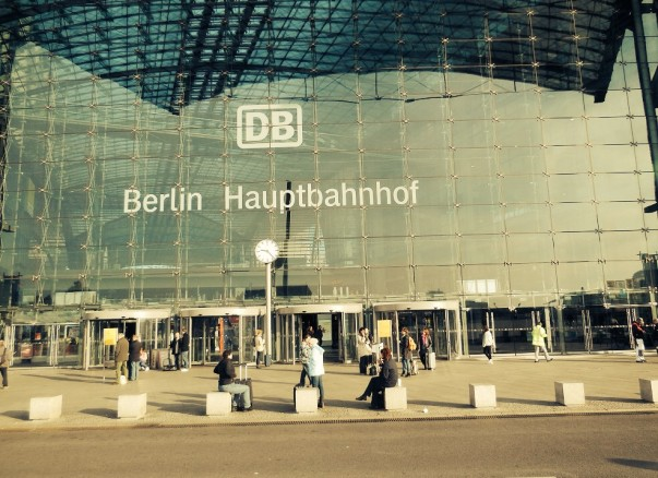 Berlin Train Station – Memories at Berlin Hauptbahnhof