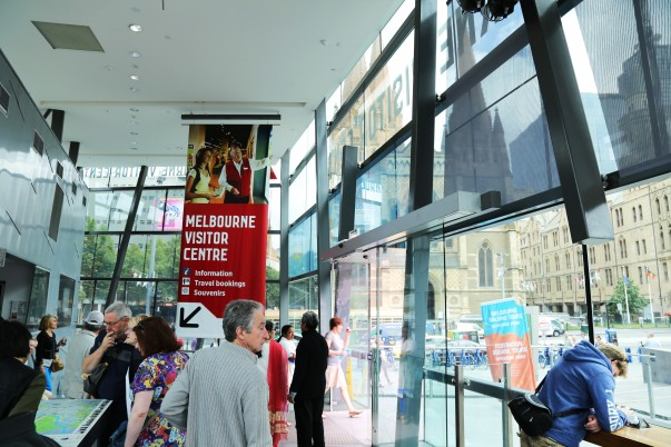 Melbourne Visitor Centre (ground Level)