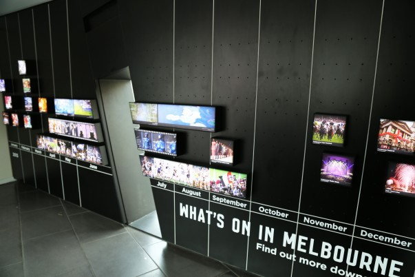 Information Display on Yearly City Events at MVC