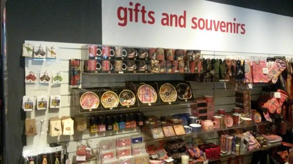 Souvenirs Display at MCV