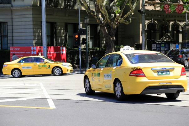 Melbourne Yellow cabs