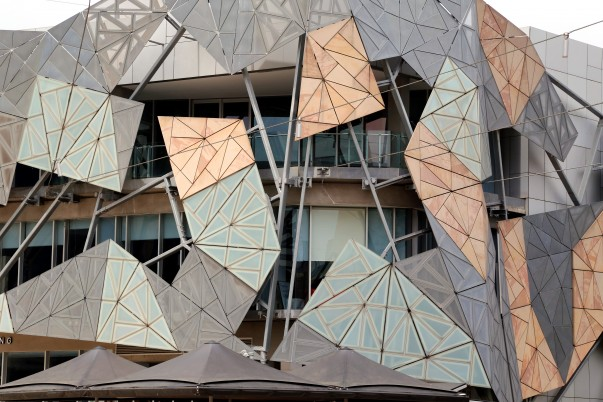 Geometrical Patterned Architecture on Building facades