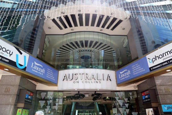 'Australia on Collins' shopping Mall at Collins Street, Melbourne