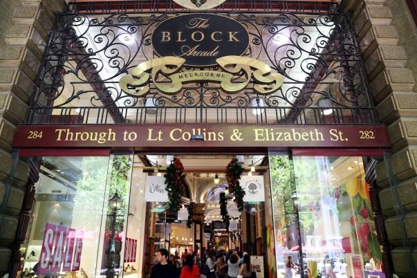 The Block Arcade Entrance