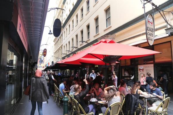 Degraves Street laneways Cafes, Melbourne