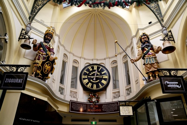 Gog and Magog British Giants at Royal Arcade