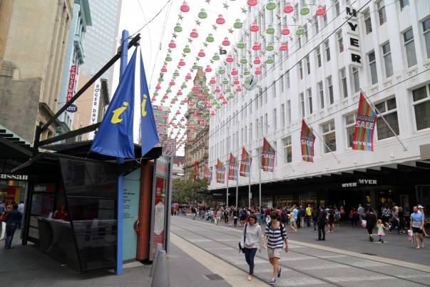 Myer at Bourke Street, Melbourne