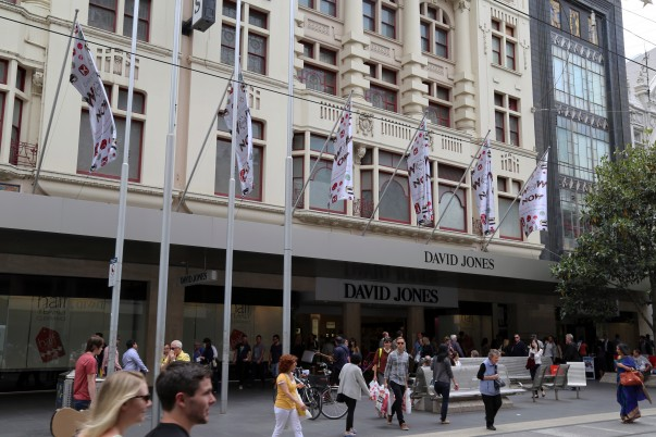 David Jones at Bourke Street Mall