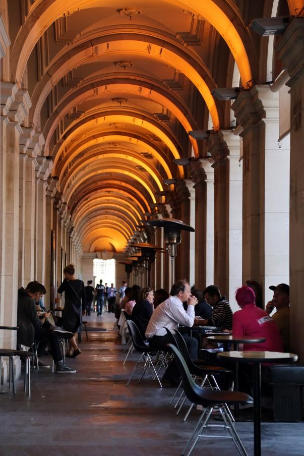 GPO's Colonnade, Melbourne