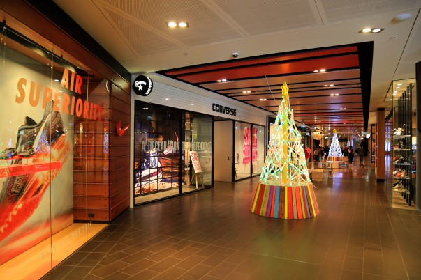 Shopping Alley at Melbourne Central