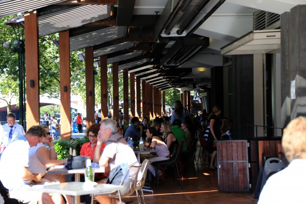 Waterfront Dining options