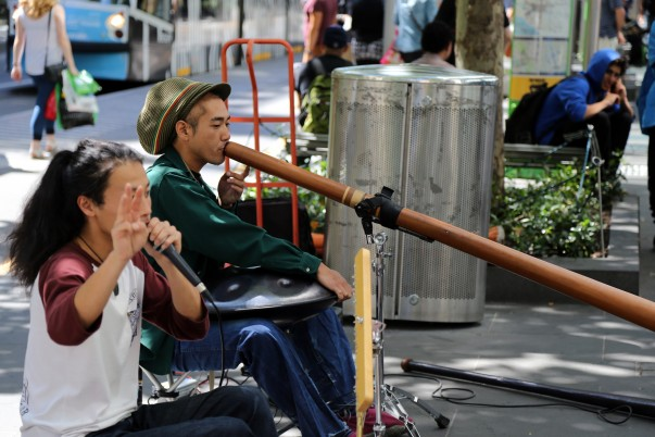 Another interesting musical performance