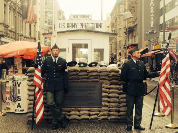 Guards Checkpoint Charlie