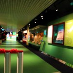 Cricket display gallery at National Sports Museum