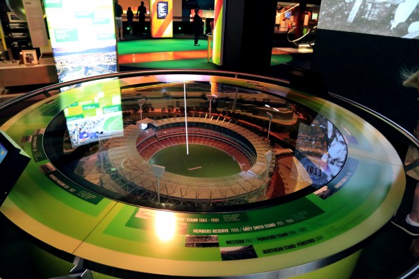 MCG Model inside National Sports Museum