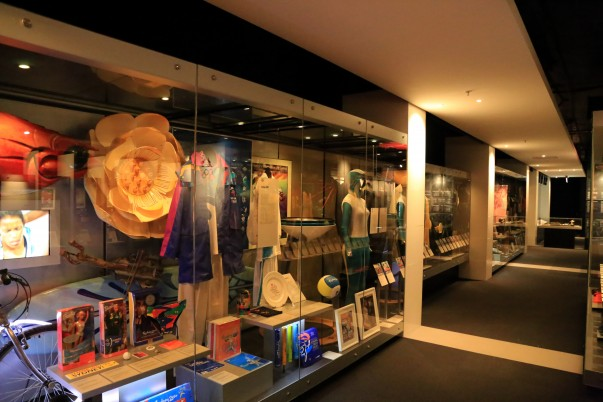 Enriching Display windows inside National Sports Museum