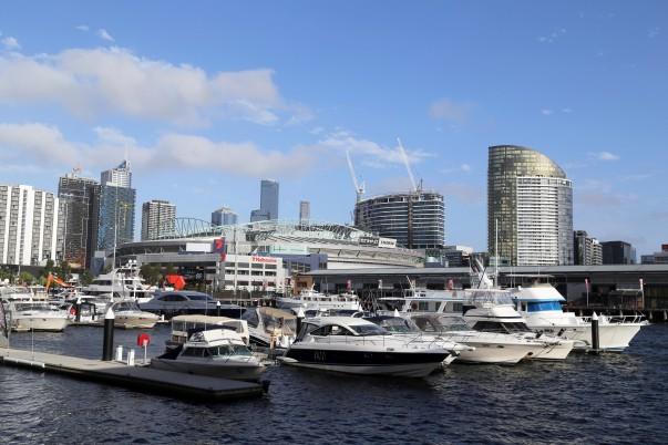 Victoria Harbor front (Melbourne Docklands)