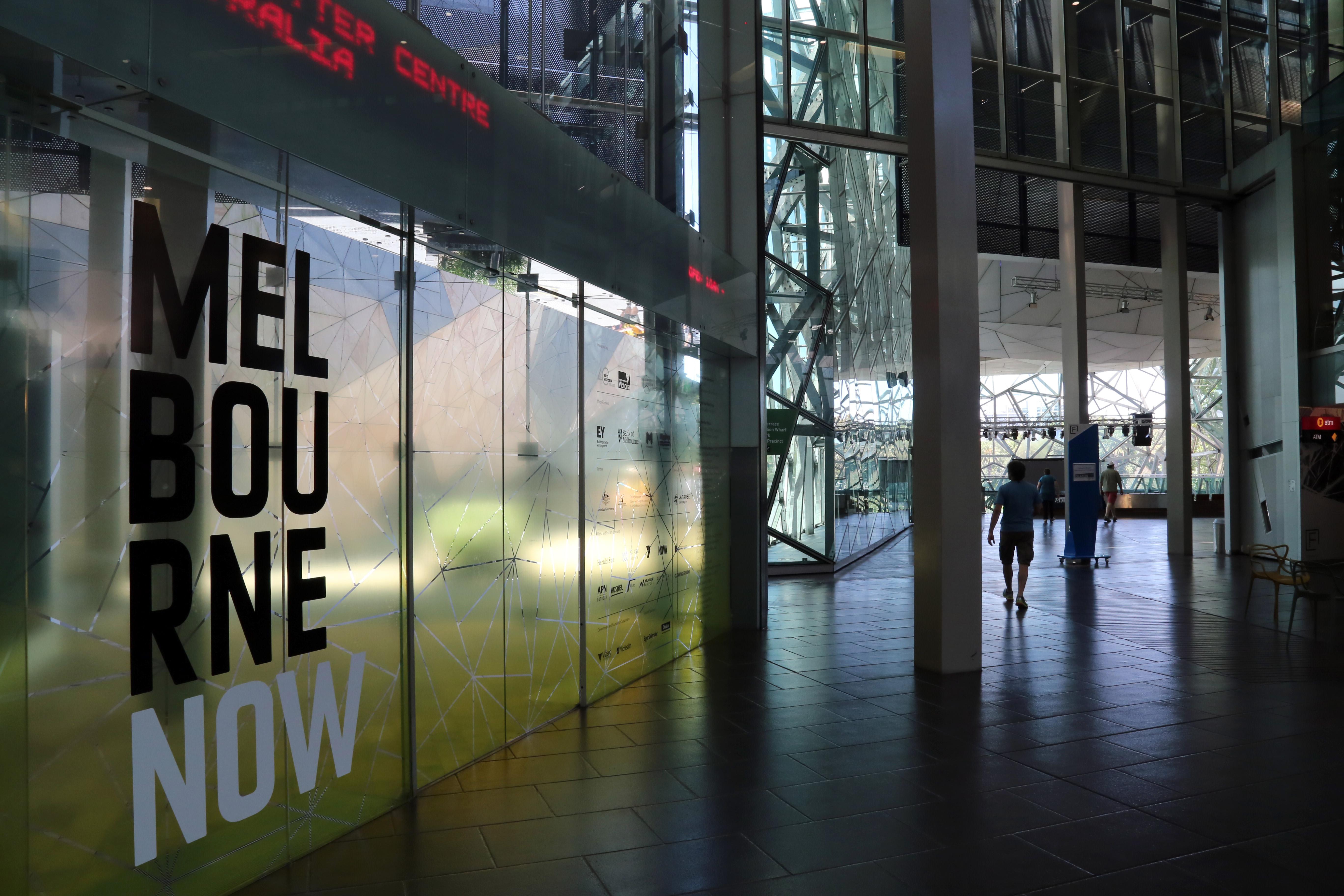 NGV and ACMI -- Art Centrals of Australia